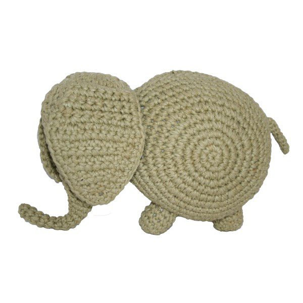 fair and cute olifant olive green