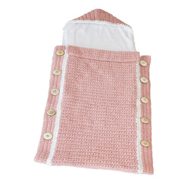 fair and cute voetenzak light pink