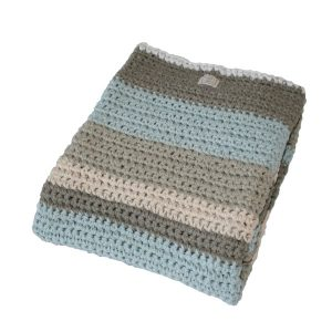 wiegdeken mixed light blue mamas 4 mamas